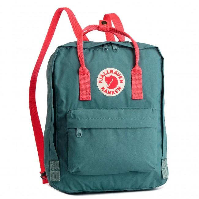 ee3f0936a8d5 Backpack FJÄLLRÄVEN - Kanken 23510 Frost Green Peach Pink 664-319 ...