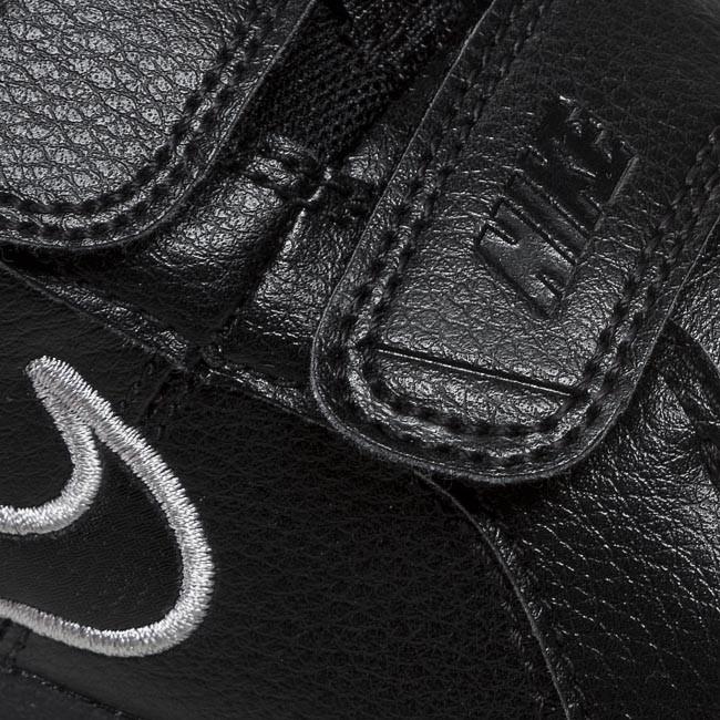 0bcb4e8728bc Shoes NIKE - Pico 4 454500 001 Black Metallic Silver - Velcro - Low ...