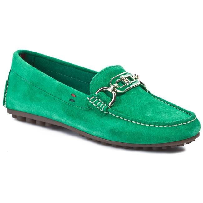1b1e8d22890de Mokasyny TOMMY HILFIGER - Kendall 5B FW56816849 Jolly Green 313 ...