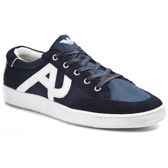 d86057794a8d5 Shoes ARMANI JEANS - V6549 46 Q8 Blue - Casual - Low shoes - Men s ...