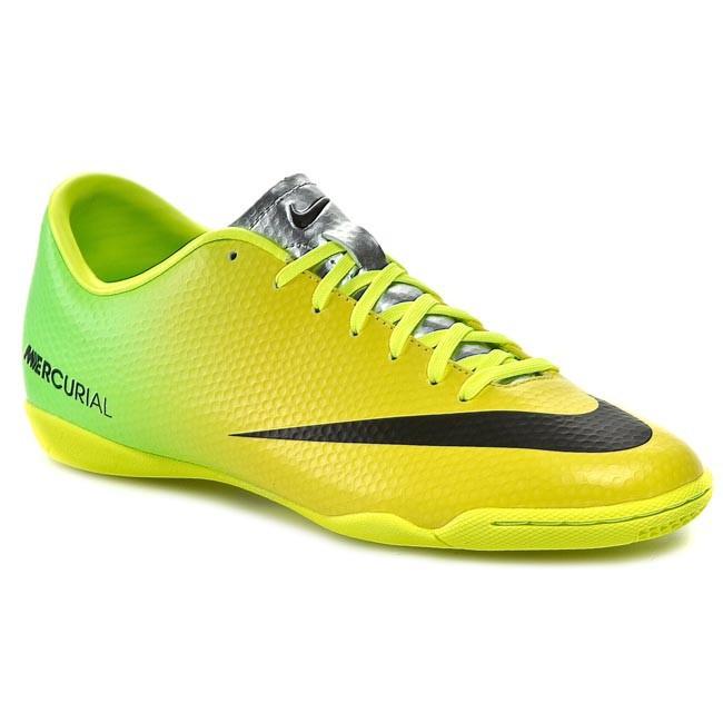 Nike Mercurial Victory 4 IV IC Vibrant Yellow Black Neo Lime (555614-703)