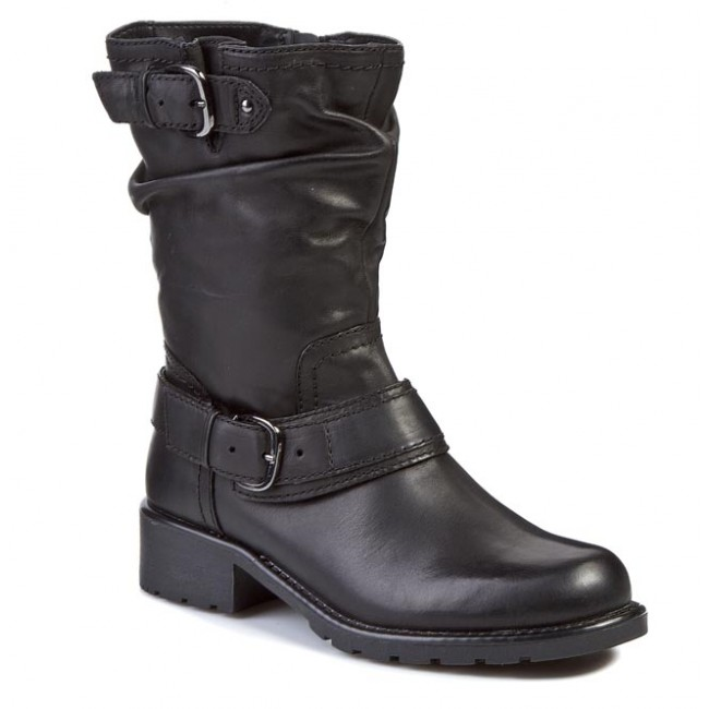 Boots CLARKS  Orinocco Jive 261026894 Black Leather