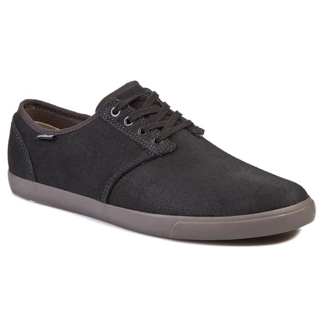 Shoes CLARKS Torbay Lace 261028177 Black/Grey
