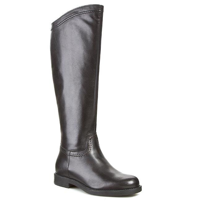 Knee High Boots TAMARIS - 1-25579-23 Black 001 - Jackboots - High ... e8bfa1ba60