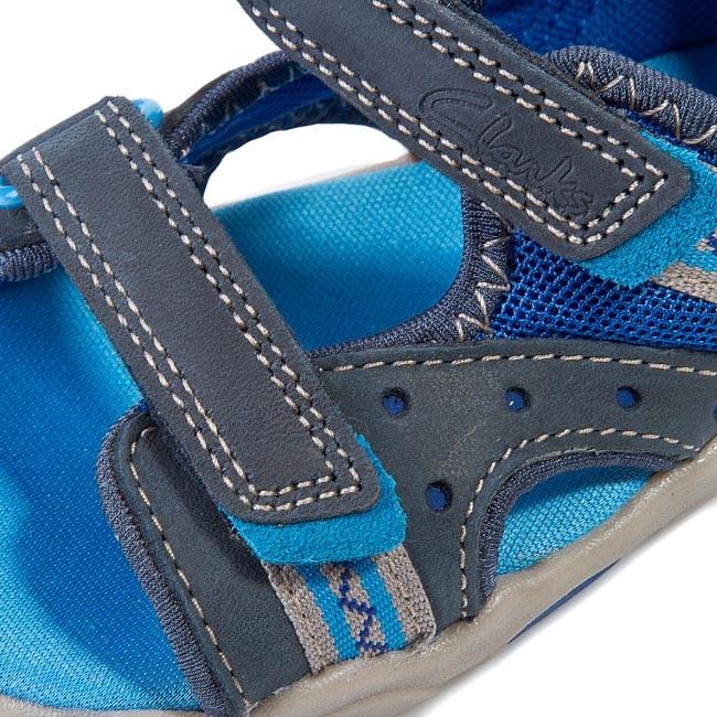236bc0967 Sandals CLARKS - Beach Dug Fst 203589957 Blue Combi - Sandals ...