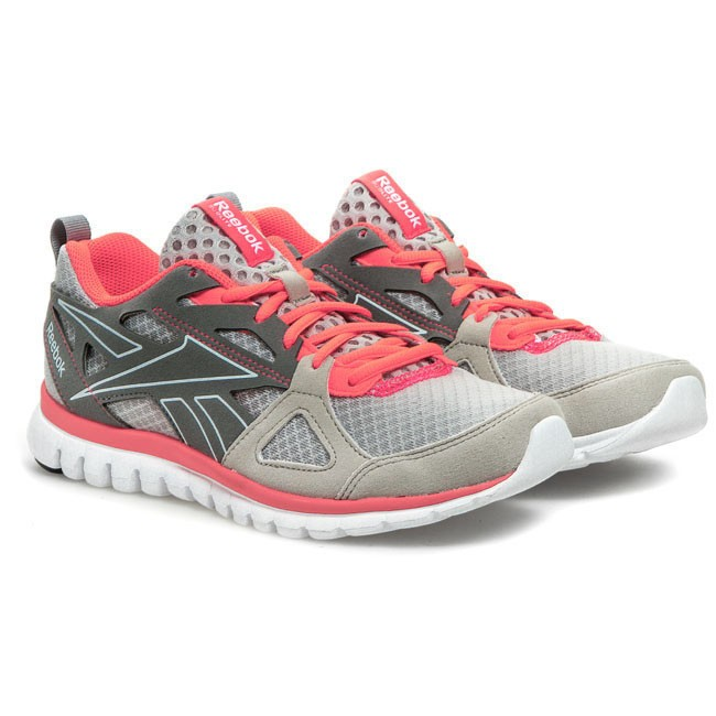 1ace76fbaa4ae Shoes Reebok - Sublite Prime V60546 Steel Grey Pink White Black - Natural - Running  shoes - Sports shoes - Women s shoes - www.efootwear.eu