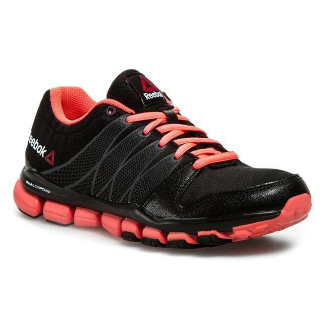 b81f291e4118 Shoes Reebok - Realflex Fusion Tr 4.0 V60066 BlackPinkWhiteGraphite ...