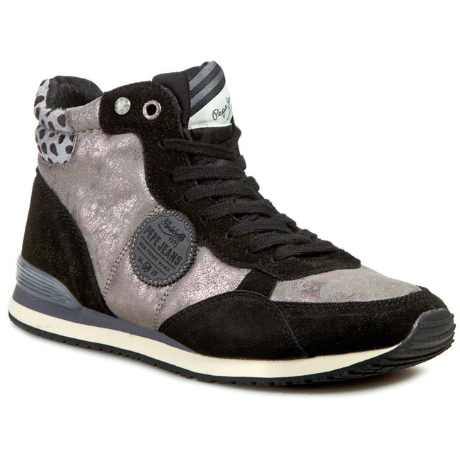 Sneakers PEPE JEANS Gable Metallic Booty PLS30063 Chrome 952