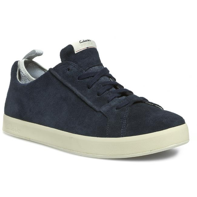 clarks men's tallow lace leather sneakers