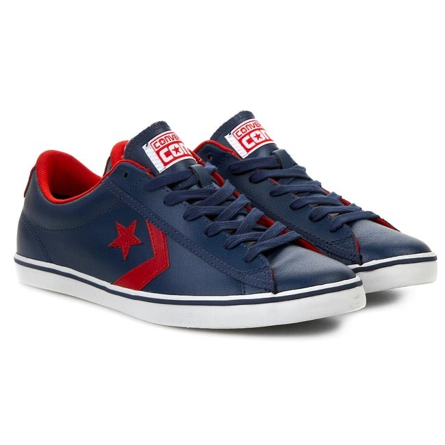 da6ed57a7619 ... clearance shoes converse star player lp 144394c navy fire br sneakers  low shoes mens shoes efootwear