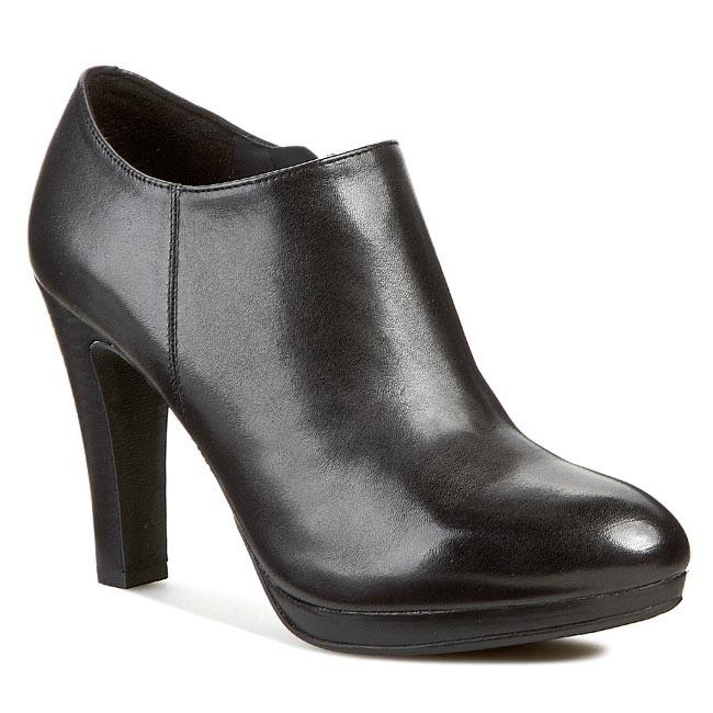 68e9615734 Shoes GEOX - D Mariele Plat H D D44W8D 00043 C9999 Black - Boots ...