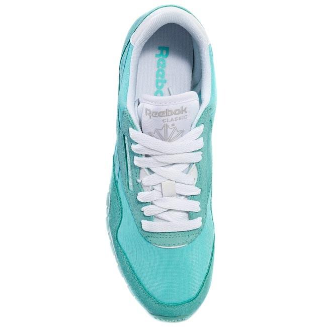 Schuhe Reebok Cl Nylon Slim Pigment M46238 Crystal BlueWhite