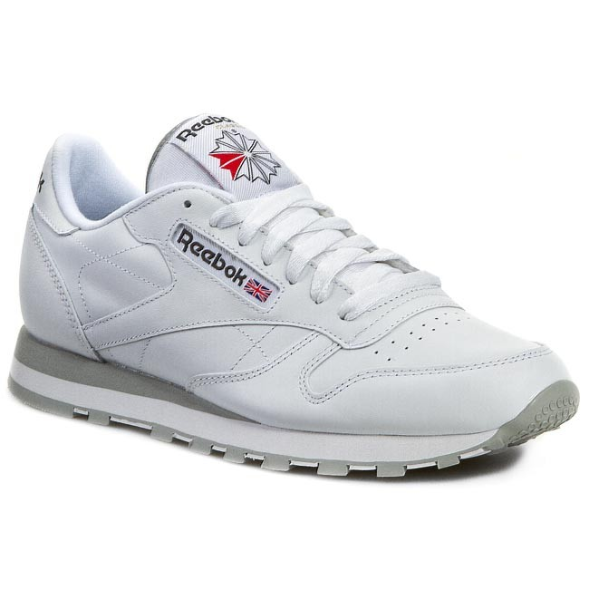 1d4aa4ae8bffb Shoes Reebok - Cl Lthr 2214 White Light Grey - Sneakers - Low shoes ...