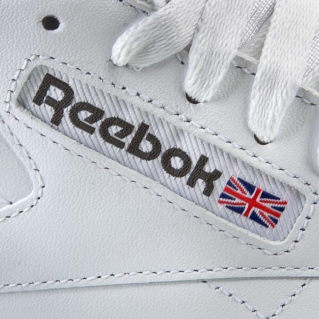 439fe777a82ea Shoes Reebok - Cl Lthr 2214 White Light Grey - Sneakers - Low shoes -  Women s shoes - www.efootwear.eu