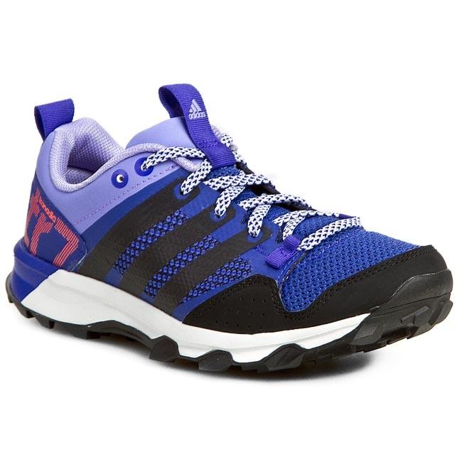 Zapatos adidas kanadia 7 TR W b40588 púrpura correr al aire libre