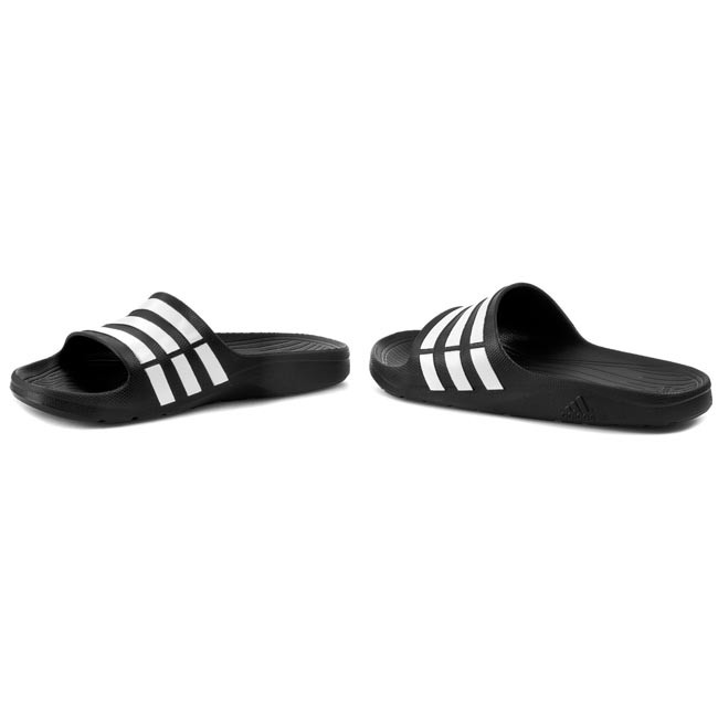 955cda2ad1a09 Slides adidas - Duramo Slide G15890 Black1/Wht - Flip-flops ...