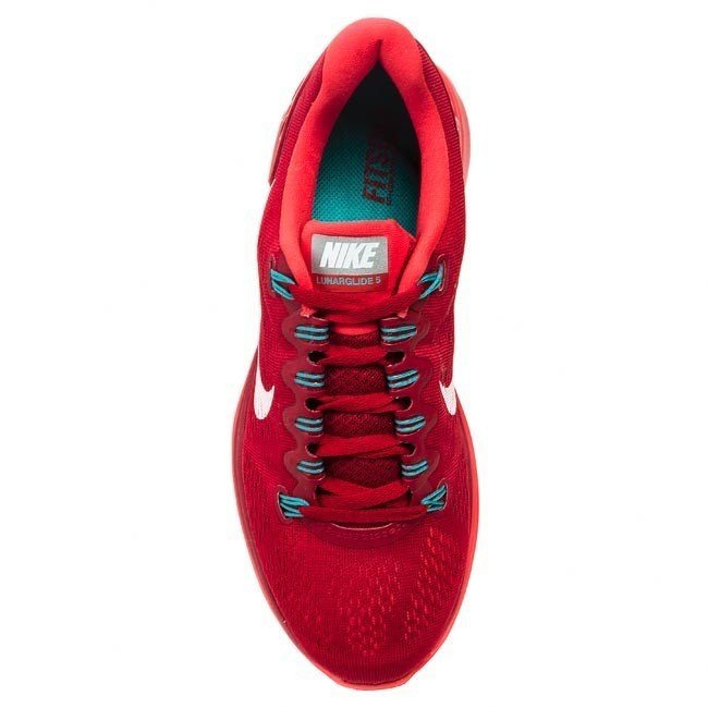 superior quality dca7c 10414 Shoes NIKE - Lunarglide+ 5 599160 601 Gym Red White Light Crimson Turbo  Green - Indoor - Running shoes - Sports shoes - Men s shoes -  www.efootwear.eu