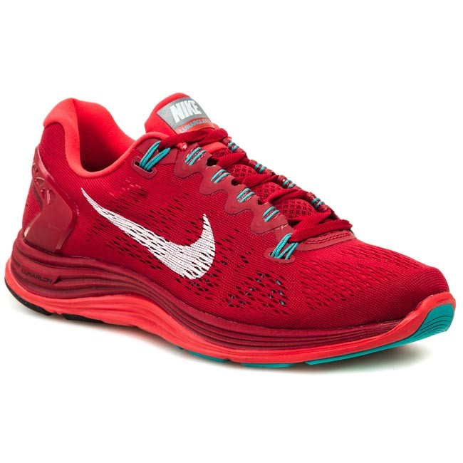 new product 152ff 57483 Shoes NIKE - Lunarglide+ 5 599160 601 Gym Red White Light Crimson Turbo