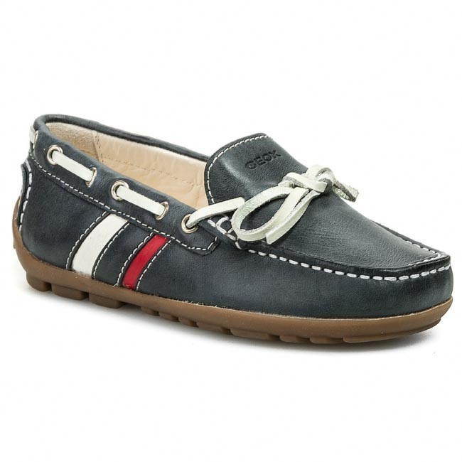 dd3d576bf86e3 Moccasins GEOX - J Fast A J42G5A 0CL43 C4075 Dark Navy Red - Low ...