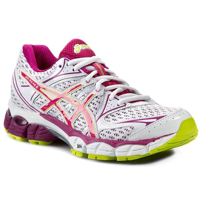 Shoes ASICS - Gel-Pulse 6 T4A8N White/Raspberry/Lime