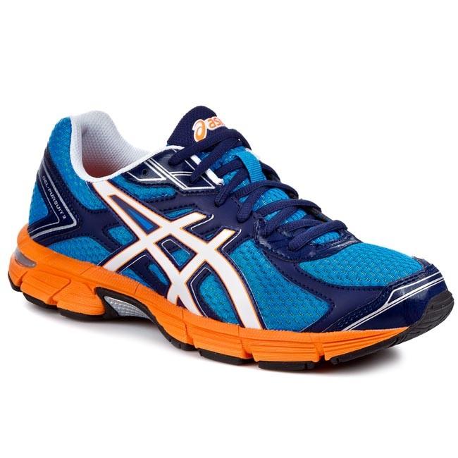 Chaussures 2 ASICS Gel Pursuit 2/ T4C4N Bleu/ Blanc Bleu/ Flash Orange 4201 76ae7b3 - newboost.website