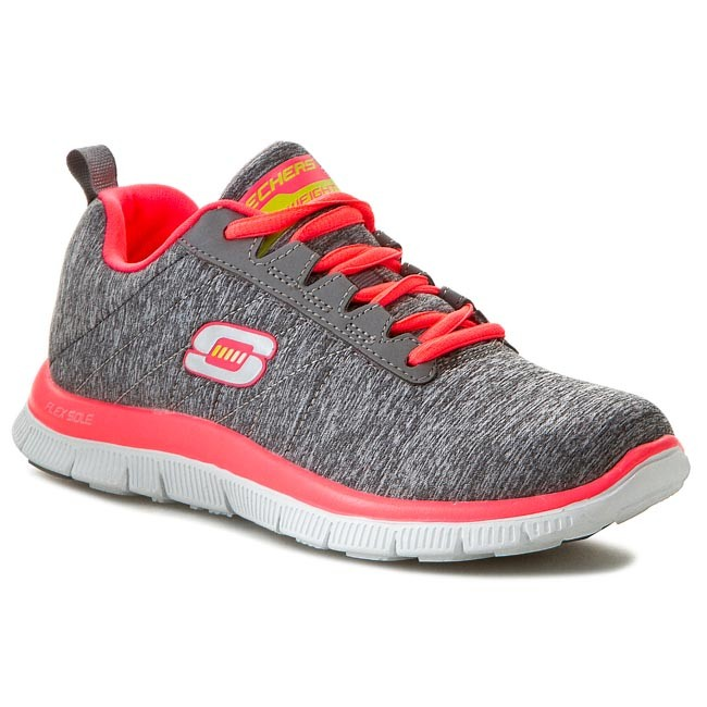 Shoes SKECHERS - Flex Appeal Next Generation 11883/GYCL Gray/Coral