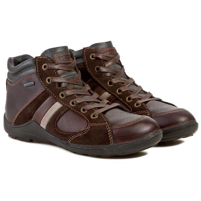 Boots GEOX U N.Compass B Abx B U44L3B 04622 C0197 KawowyBrąz