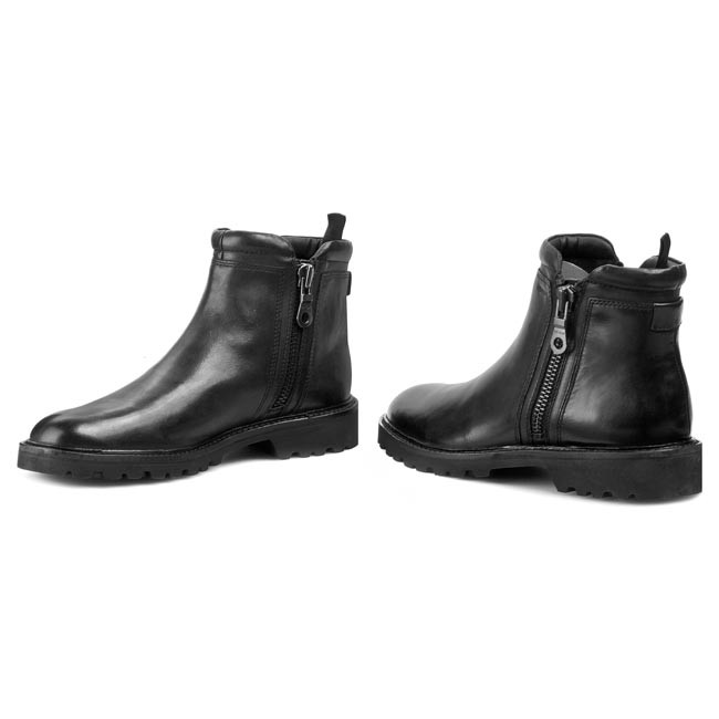 fluctuar Contra la voluntad ocupado  Boots GEOX - U New igor E U44P6E 00043 C9999 Black - Jackboots - High boots  and others - Men's shoes | efootwear.eu