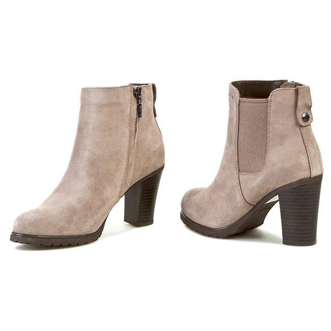 4213d9c37a8 Boots GEOX - D Trish Abx B D44Y1B 00022 C1006 Grey - Boots - High ...