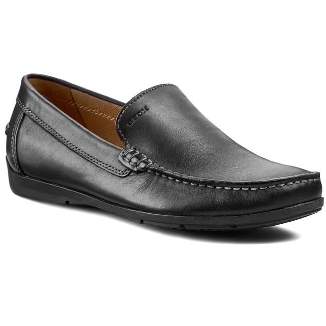 Moccasins GEOX - U Simon A U32Q3A 00043 C9999 Black