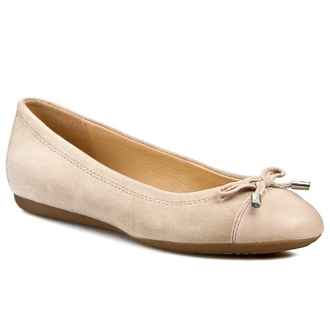 Geox A Flats 02143 Ballerina D93m4a C6738 D Lola Light Taupe k8n0wOPXNZ