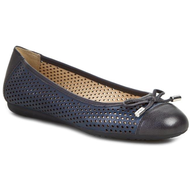 214a5819e053 Flats GEOX - D Lola A D52M4A 0QL43 C4002 Blue - Ballerina shoes ...