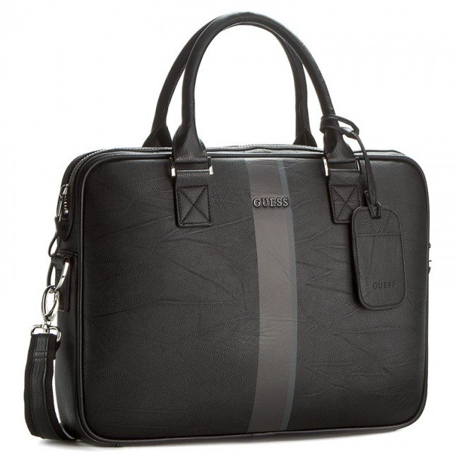 8ef165578a2 Laptop Bag GUESS - HM2568 POL61 BLA - Notebook bags and backpacks ...