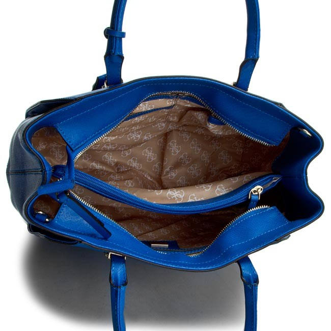 24f68ed760041 Handbag GUESS - Sissi HWSISS P6206 BLU - Classic - Handbags - www .efootwear.eu