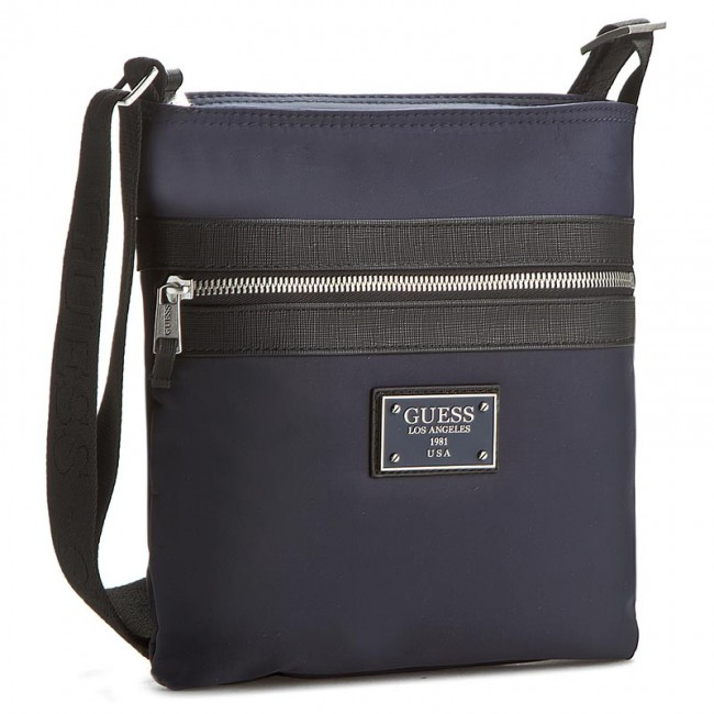 c64631cfe3 Messenger Bag GUESS - New Heritage HM2257 POL64 DBL - Men s ...