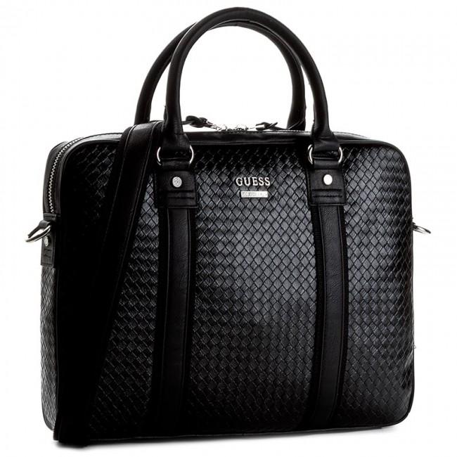 78759f2c4085 Laptop Bag GUESS - Downtown Woven HM3103 POL72 BLA - Notebook bags ...