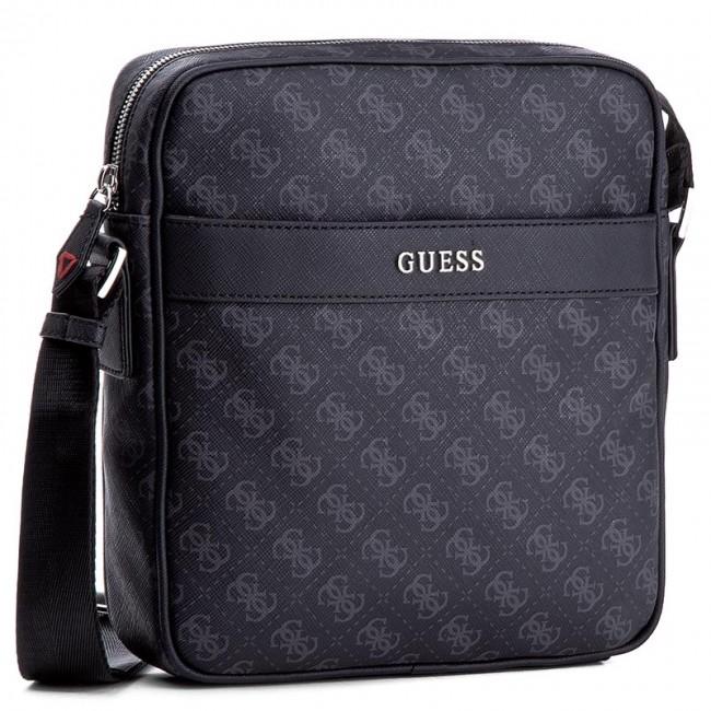 b659347477 Messenger Bag GUESS - Uptown Logo HM6213 POL74 BLA - Men s ...
