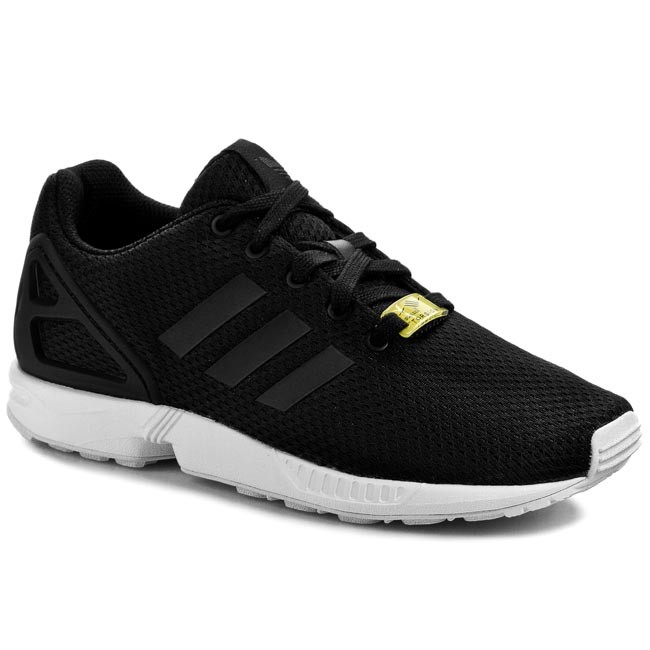 Chaussures  adidas Zx Flux K M21294 Noir/FTWBlanc Sneakers Low