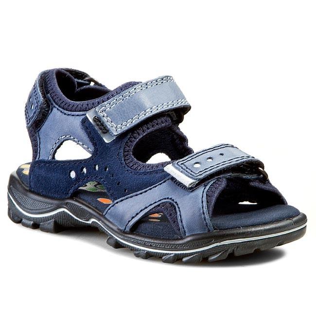 ac3e136f8635 Sandals ECCO - Urban Safari Kids 73211259165 Denim Blue  Denim Blue Marine