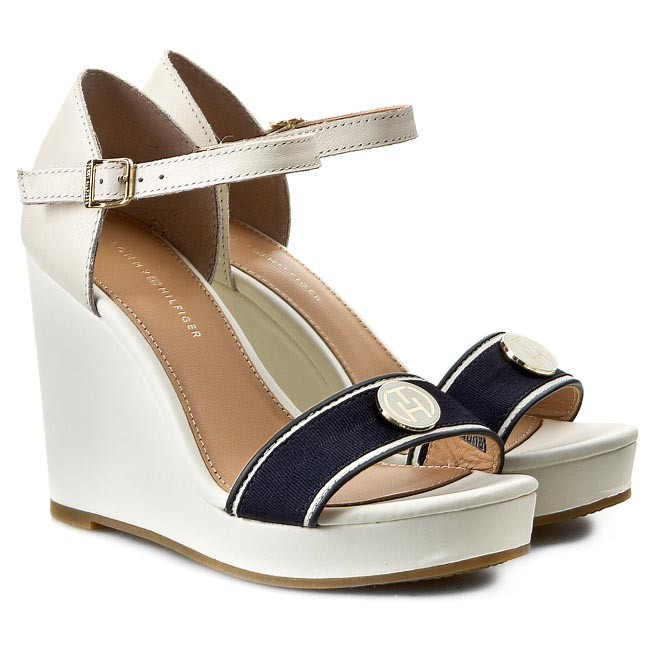 Sandals TOMMY HILFIGER - Emery 59D FW56818545 Whisper White 121 - Casual  sandals - Sandals - Mules and sandals - Women s shoes - www.efootwear.eu 9cf9194b7c7
