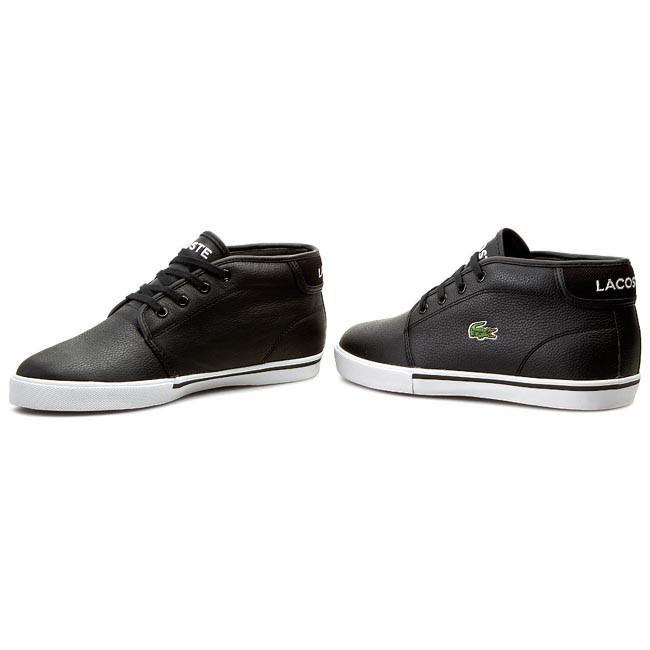 Shoes LACOSTE - Ampthill Lcr Spm 7-27SPM107402H Black