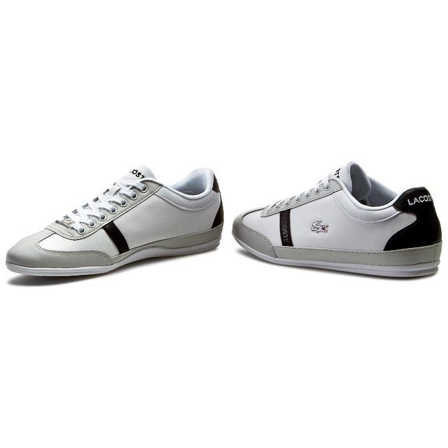 13b19baad34280 Shoes LACOSTE - Misano Sporty Scy Spm 7-29SPM004014X White Light Grey