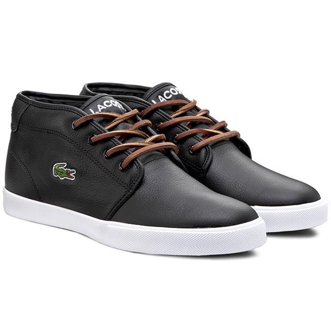 a4b62c76ba88f6 Shoes LACOSTE - Ampthill Tbr2 Spm 7-29SPM006602H Black - Casual - Low shoes  - Men s shoes - www.efootwear.eu