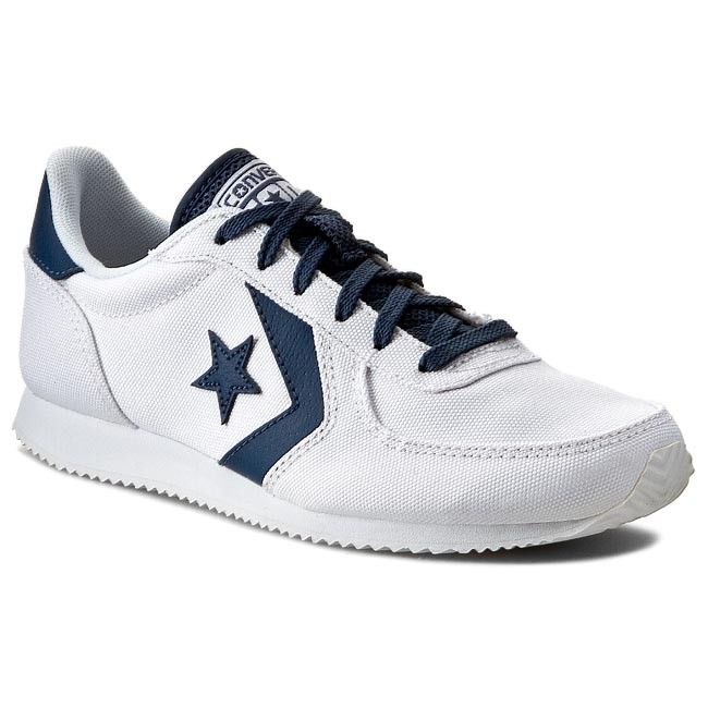 2a2d26674f57 Shoes CONVERSE - Arizona Racer O 147426C White Navy - Sneakers - Low ...