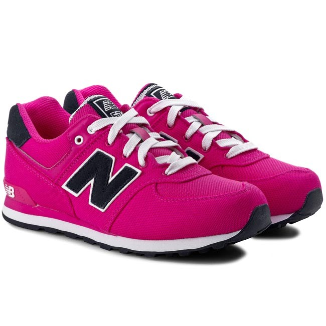 Sneakers NEW BALANCE - Classics KL574PFG Pink - Sneakers - Low shoes ...