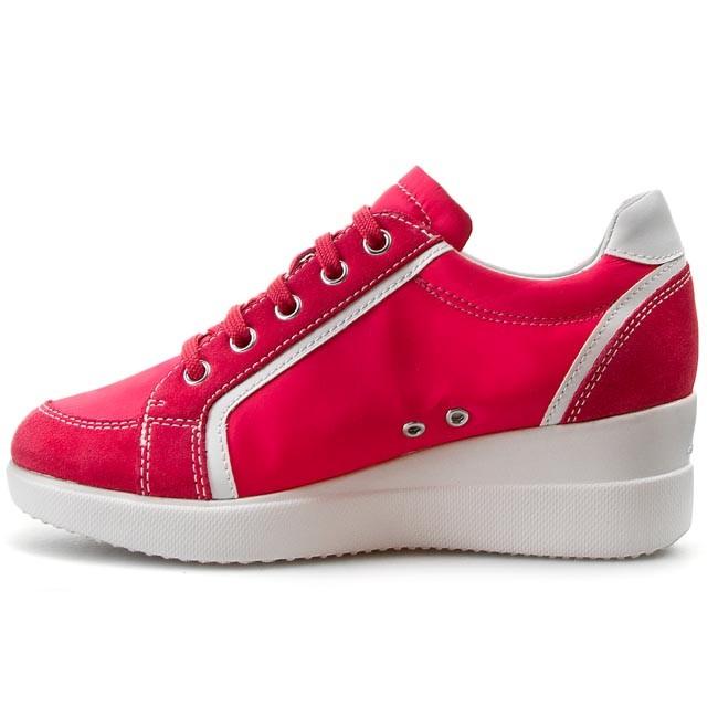 Sneakers GEOX D Stardust E D4230E 0FU22 C8002 Fuchsia