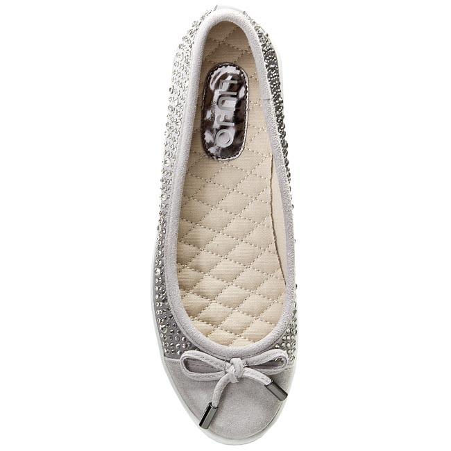 Produkt 630  705b74d0c547 Flats LIU JO - Ballerina Aura S15141 T0380 Cement  63801 - Ballerina shoes - Low ... 1c4ce73f305