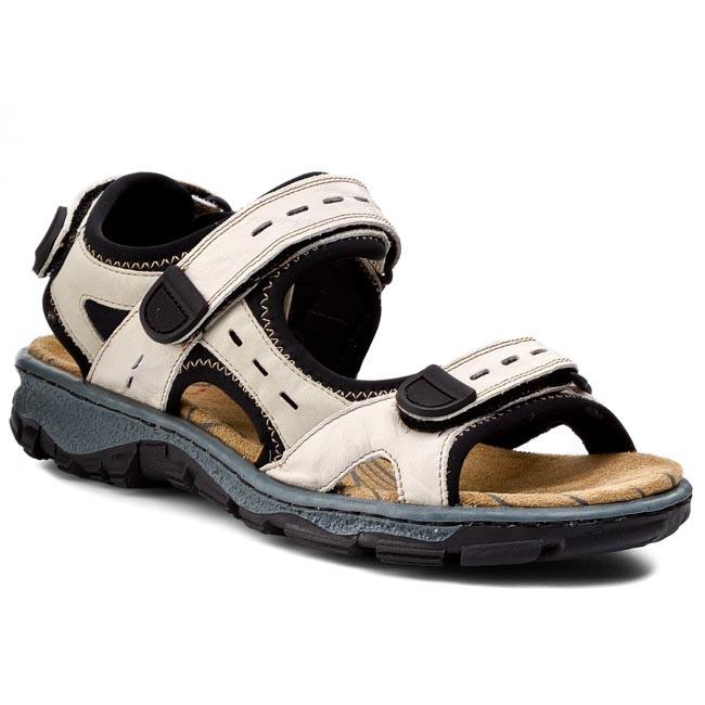 Sandals RIEKER - 68872-60 Beige Kombi