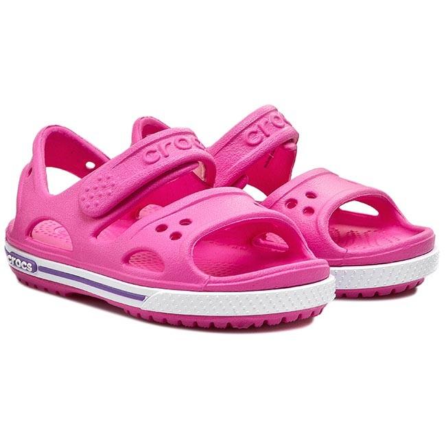 Sandals CROCS - Crocband II Sandal 14854 Neon Magenta Neon Purple ... 063f088453d