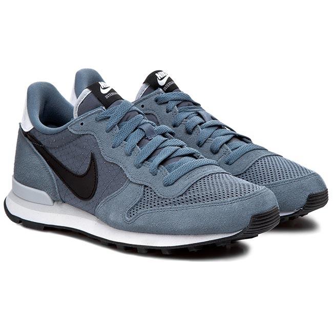 Shoes NIKE - Internationalist 631754 403 Blue Graphite/Black